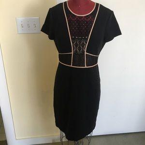 BCBGMAXAZRIA Dress size 6 Black lined